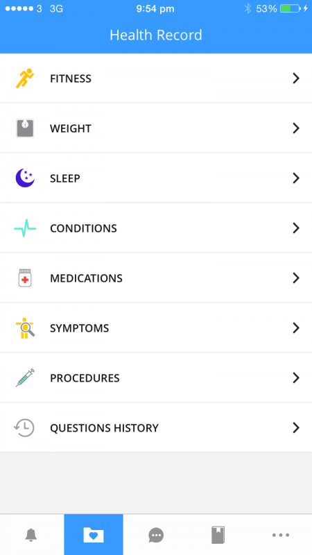 New features in MedWhat